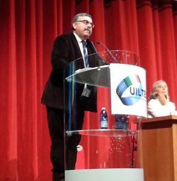Paolo Pirani segretario UILTEC